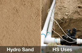 Hydro Sand / HS Uses