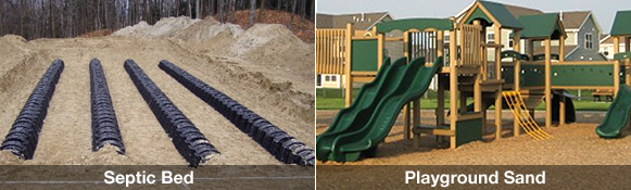 Septic Bed / Playground Sand