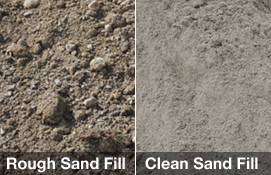 Rough Sand Fill / Clean Sand Fill